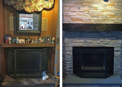 Before and After Masonry Work