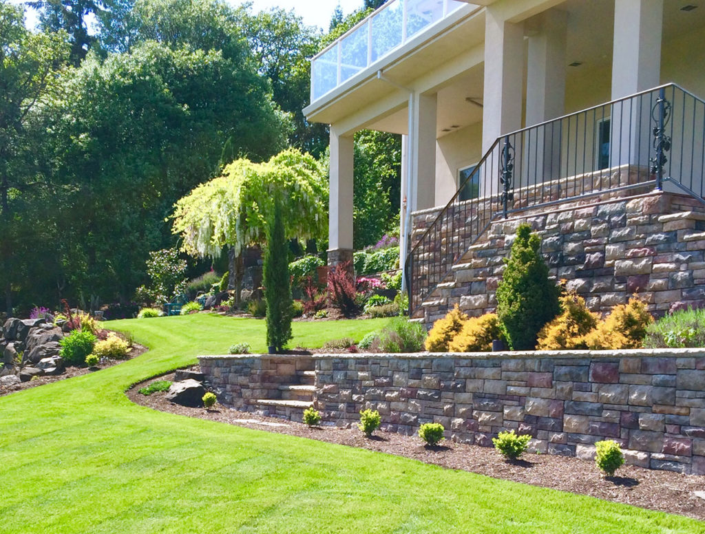 C and d landscape co oregon commercial and residential for Residential landscaping
