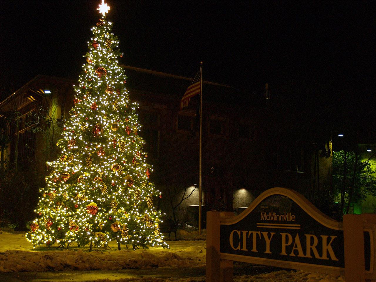 Christmas Dcor  C and D Landscape Co Oregon
